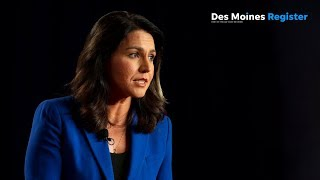 Full video: Tulsi Gabbard speaks at the AARP/Des Moines Register forums (8/17)