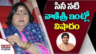 Updates on death of senior actress Vanisri's son..
