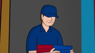 The Creepy Pizza Delivery Guy