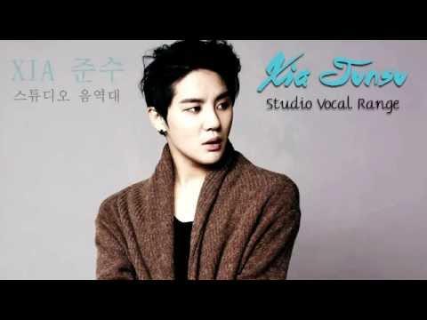 시아준수 음역대 | XIA Junsu, Studio Vocal Range: A2-G5