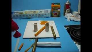 Make ColorHot Glue Sticks