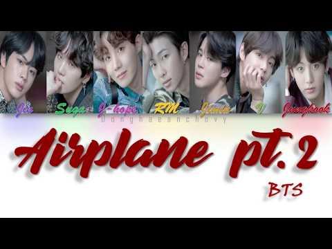 VOSTFR/ENG:BTS (방탄소년단) - Airplane pt.2 (Parole code Couleur Han/Rom/VOSTFR/ENG)