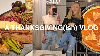 thanksgiving shenanigans (& how to make a cheese board) | vlogmas day 1