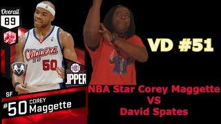 Playing NBA Star Corey Maggette 📕 Video Diary #51 (David Spates)