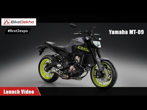#first2expo | Yamaha MT-09 | Showcase Video | BikeDekho@AutoExpo2016