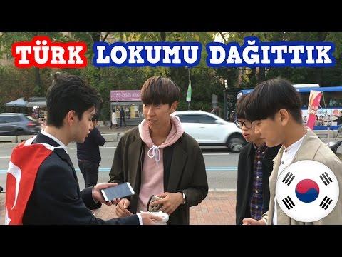 Korelilere 29 Ekim'de Türk Lokumu ikram ettik EFSANE!