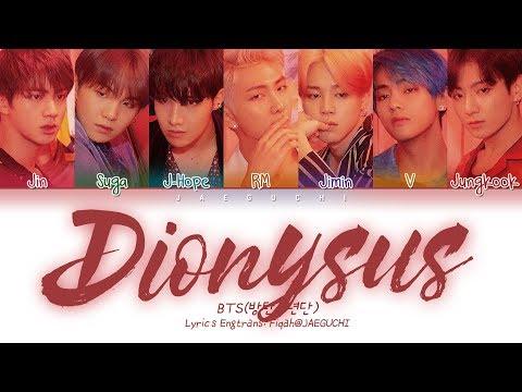 BTS (방탄소년단) - Dionysus (Color Coded Lyrics Eng/Rom/Han/가사)