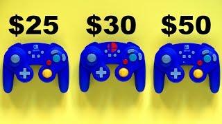 Nintendo Switch Super Smash Bros Controller Battle!