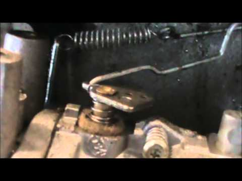Craftsman Tecumseh Governor Linkage Spring Locations Youtube