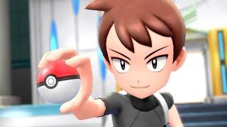 Pokemon Let's Go Pikachu & Eevee - Champion Battle + Ending
