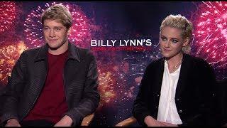 BILLY LYNN'S LONG HALFTIME WALK: Backstage w/ Kristen Stewart & Joe Alwyn