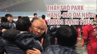 Thầy trò Park Hang-seo khóc nức nở khi U23 Việt Nam thắng Iraq