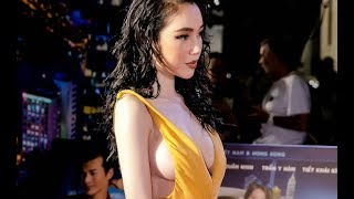 Elly Trần thả vòng một đi hoang khiến ai cũng tròn xoe mắt tại event