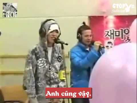 [GTOPvn][Vietsub] G Dragon & TOP Confessing - Smashpipe Entertainment