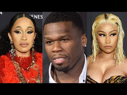 50 Cent Sends Goons in Cardi B and Nicki Minaj Fight After DJ SpinKing Jumped in