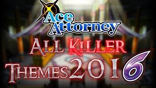 Ace Attorney: All Culprit/Killer Themes 2016