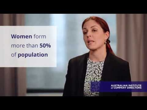 Why gender diversity is important in the boardroom