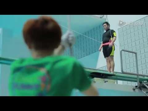 [Sina]HanGeng got fainted in water