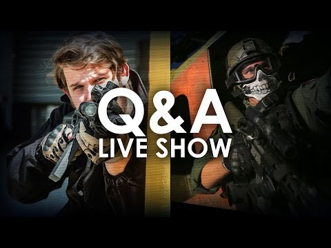 Airsoft Live Show Questions & Answers | Josh & Bill | AirsoftGI.com