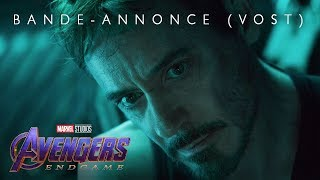 Avengers : endgame :  bande-annonce VOST