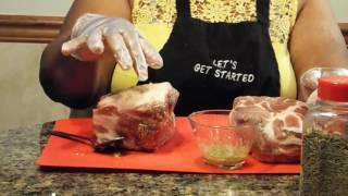 Roast Pork Butt