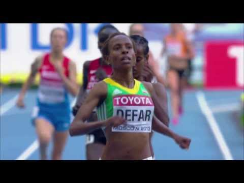 Moscow 2013 - Meseret Defar - 5000m Women - Heat 2