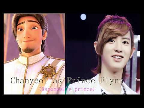 Exo as Disney Princes HD