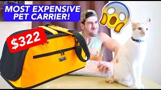 PHP16,000++ BAG for MY CAT( MAUI BOY)  Pet Carrier UNBOXING!!