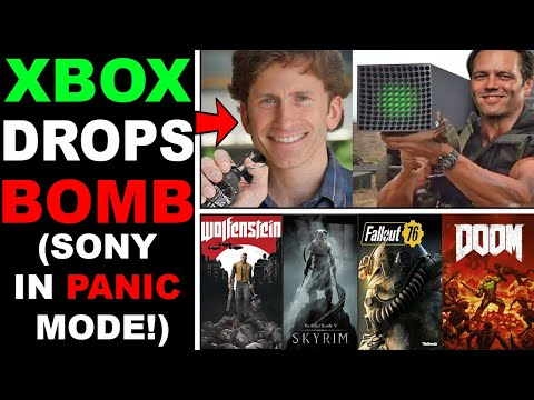 Xbox Series X Just DESTROYED PS5! Microsoft BUYS Bethesda!