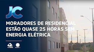 Moradores de residencial estão quase 25 horas sem energia elétrica
