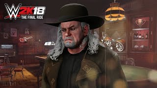 UNDERTAKER'S FINAL RIDE | WWE 2K18 Universe Side Mission