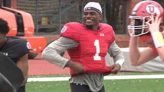 Utes hold first practice in San Antonio