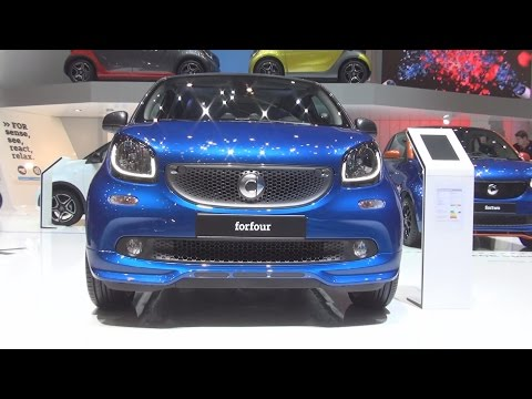Smart Forfour 66 kW Twinamic (2016) Exterior and Interior in 3D