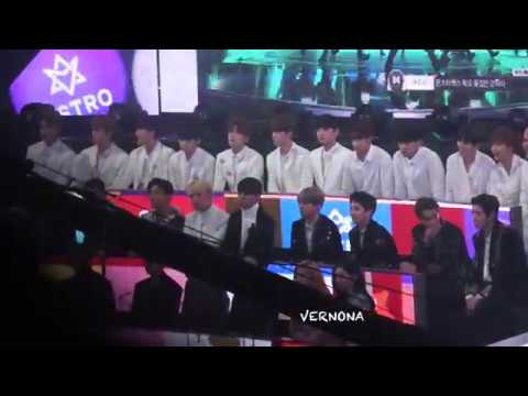 20171231 SEVENTEEN react to MONSTAX DRAMARAMA