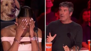 Simon Cowell RIPS Into Mel B Over Rejecting The Singing Dog! | America's Got Talent 2018