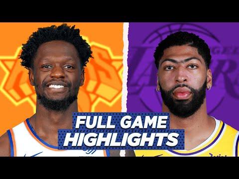 KNICKS vs LA LAKERS FULL GAME HIGHLIGHTS | 2021 NBA SEASON