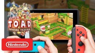 Captain Toad Treasure Tracker - Co-op Trailer - Nintendo Switch