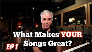 What Makes YOUR Songs Great? REACTING TO YOUR SONGS!