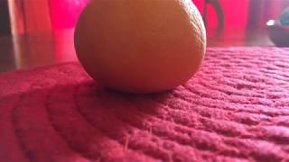 How to properly peel an orange