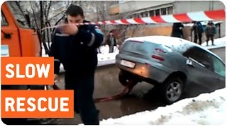 Tow Truck Destroys Car | From Bad to Worse