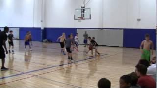 20150615 Mason and Ryan at KU Basketball Camp