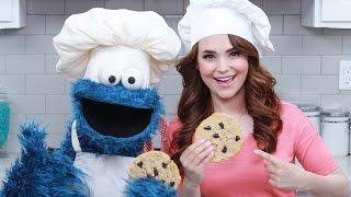 CHOCOLATE CHIP COOKIES w/ COOKIE MONSTER! - NERDY NUMMIES
