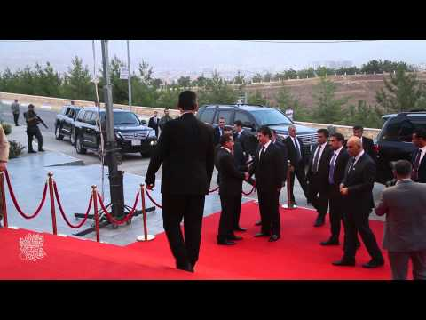 Nechirvan Barzani at the opening ceremony of DIFF-2015