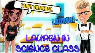 Lauren in Science Class - MSP Version