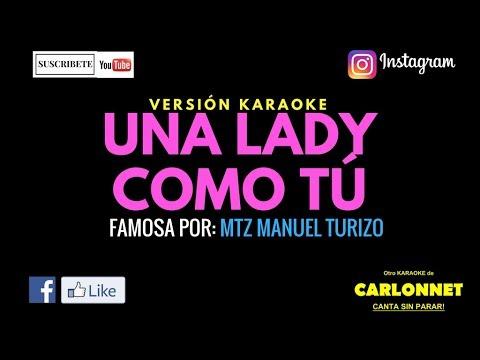 Una Lady Como Tú (Instrumental)