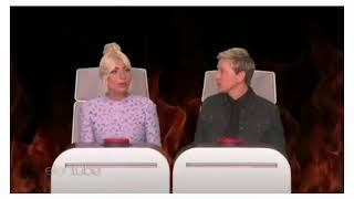 Lady Gaga On Ellen 2018 - Ellens Burning Questions