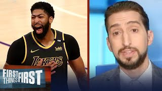The demise of Anthony Davis has been greatly exaggerated — Nick Wright | NBA | FIRST THINGS FIRST