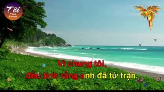 [Karaoke] Tim lai cuoc doi (Xang xe - Co 1-2-3 Don ca Nam)