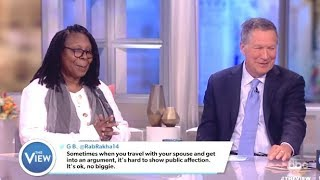 Kasich On The 1st Lady & Trump - The View