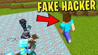 Fake hacker OP trolling on my minecraft server